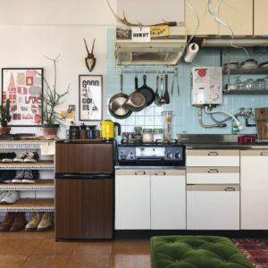 キッチンをすっきり見せる方法【水平軸をとりいれる】