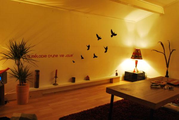 パリ時代に住んでいた部屋②/Laplace