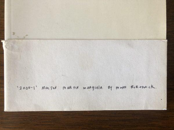 観葉植物を好きになったきっかけ?/Martin Margiela『2000-1』