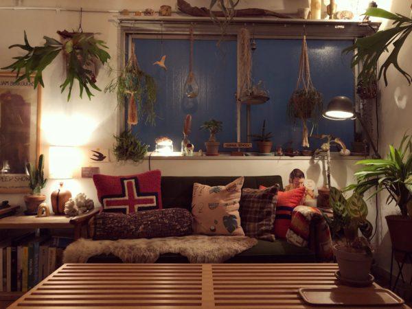 ランプの効果的な照らし方/ジェルデ・スタンドランプ