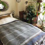 冬のベッドメイク/loomerのベッドカバー