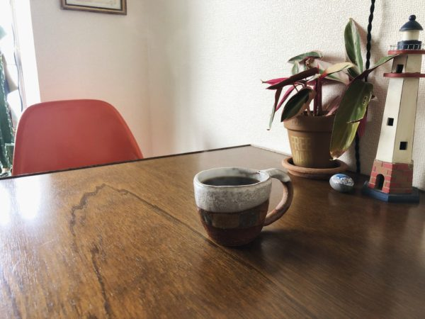 念願の、SHINO TAKEDAさんのマグカップ