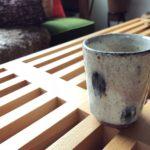 静かな存在感を放つ杉本太郎さんの湯のみ