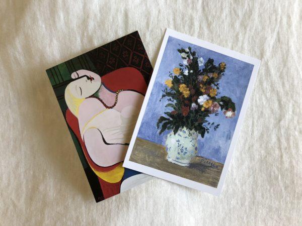 アートをカジュアルに取り入れよう/ピカソのポストカード