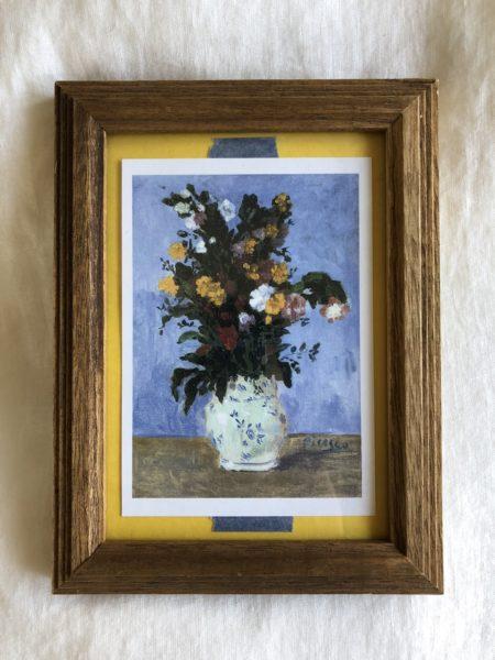 vase de fleurs ピカソ フレーム