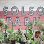 SOLSO PARKでグリーンハント