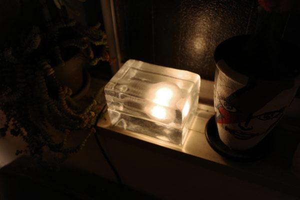 ブロックランプにはLED?白熱電球?