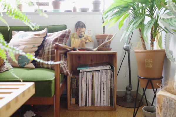 木箱 サイドテーブル