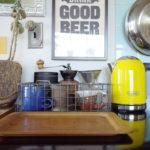 キッチンに色を加える【ヒースセラミックスのスタジオマグ】