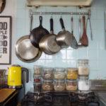 キッチン 見せる収納