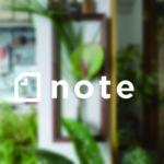 note flat furniture フレームフワラーベース