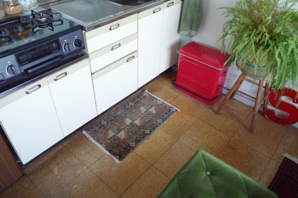 キッチン キリムラグ